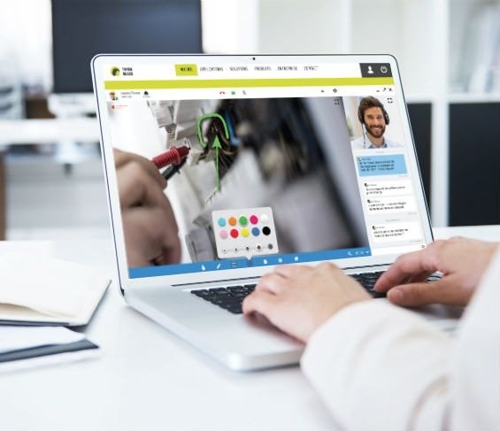Apizee Diag Visio-assistance et expertise visuelle Visual assistcance and remote expertise