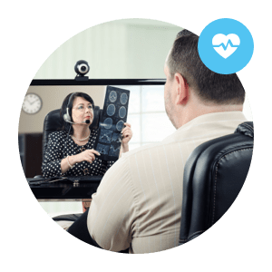telehealth solutions allows doctors to meet their patients visually and remotely - solutions de télésanté permettent aux médecins de rencontrer leur patients visuellement et à distance