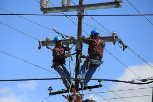 electrical engineer repair electricity pole for field service solution - ingénieur électricien réparation poteau électrique pour solution de service sur le terrain