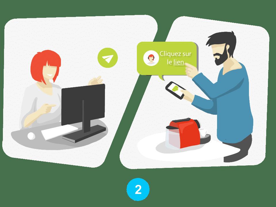 Visio-assistance pour le service client et l'expertise