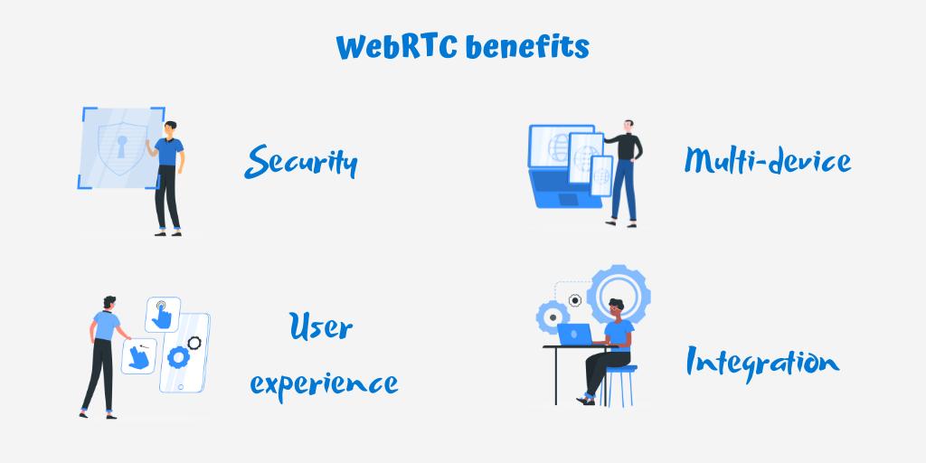 The advantages of WebRTC
