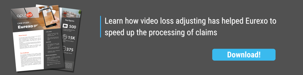 Eurexo Video loss assessment claims management insuranceApizee